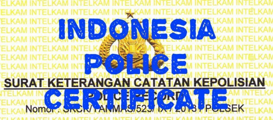 Police Clearance Certificate in Indonesia